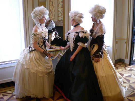 Les costumes XVIIIème