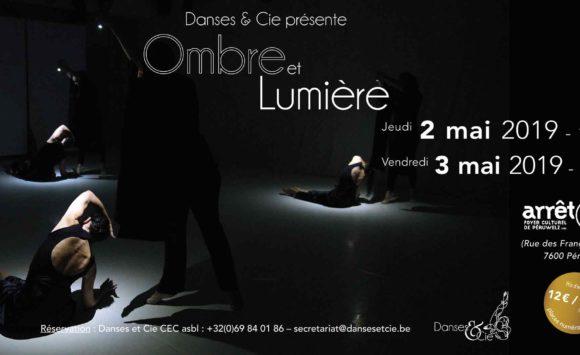 """Spectacle """"Ombre et Lumière"""" les 2 et 3 mai 2019 à l'Arrêt 59"""