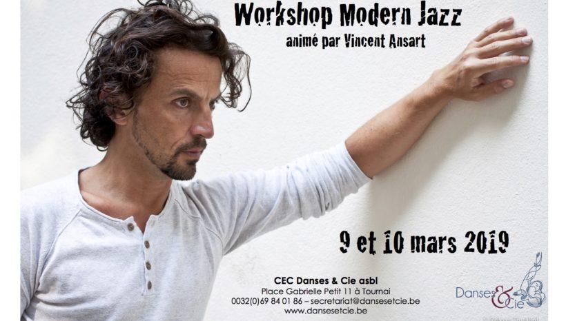 Workshop Modern Jazz – Profitez du tarif préférentiel jusqu'au 18/02/2019!
