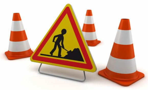 Attention! Travaux Quai du Luchet d'Antoing…