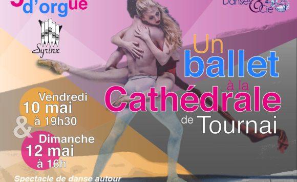 Un ballet à la Cathédrale – vendredi 10 mai à 19h30 et dimanche 12 mai à 16h