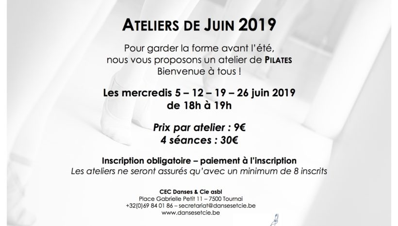 Ateliers de Juin 2019